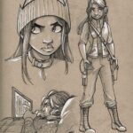 Batgirl_Sketchbook 1