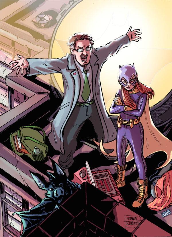 Batgirl and Jim