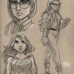 Supergirl_Sketchbook