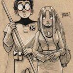 TTGRobinandStar_Sketchbook 1